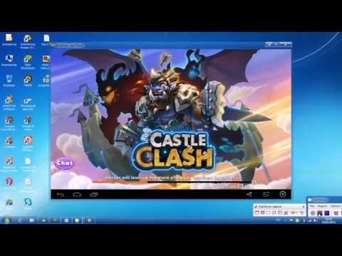Как установить и где скачать Castle Clash на компьютер пк Windows бесплатно