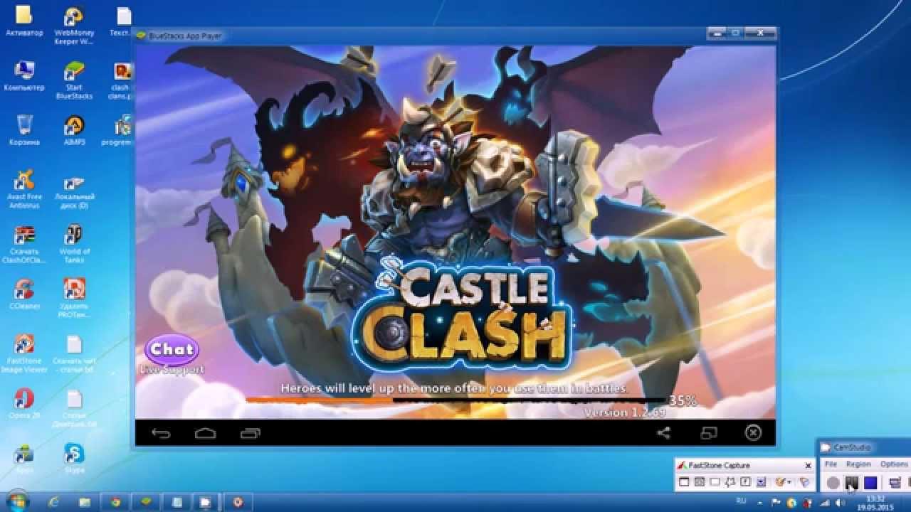 Скачать игру castle clans на компьютер