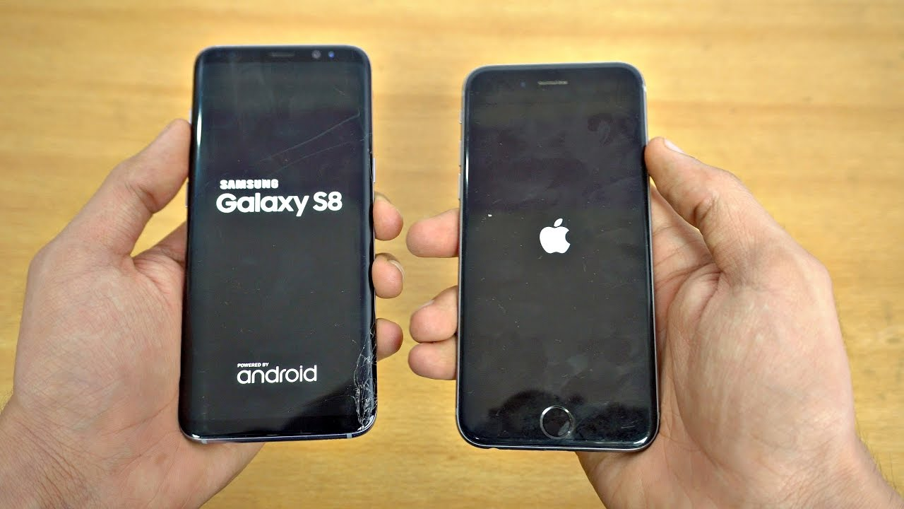 IPHONE 6S PLUS VS SAMSUNG GALAXY S8