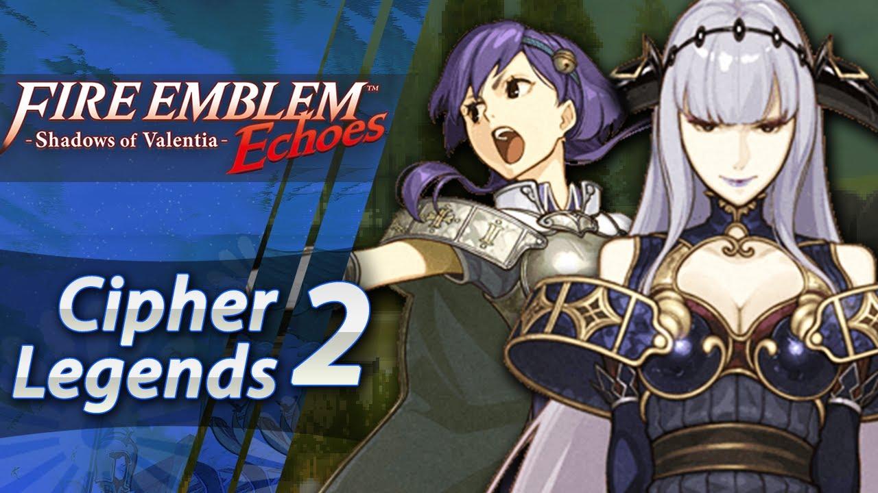 Fire Emblem Echoes: Shadows of Valentia - DLC: Cipher Legends 2 - Shade &  Yuzu! (Hard/Classic)