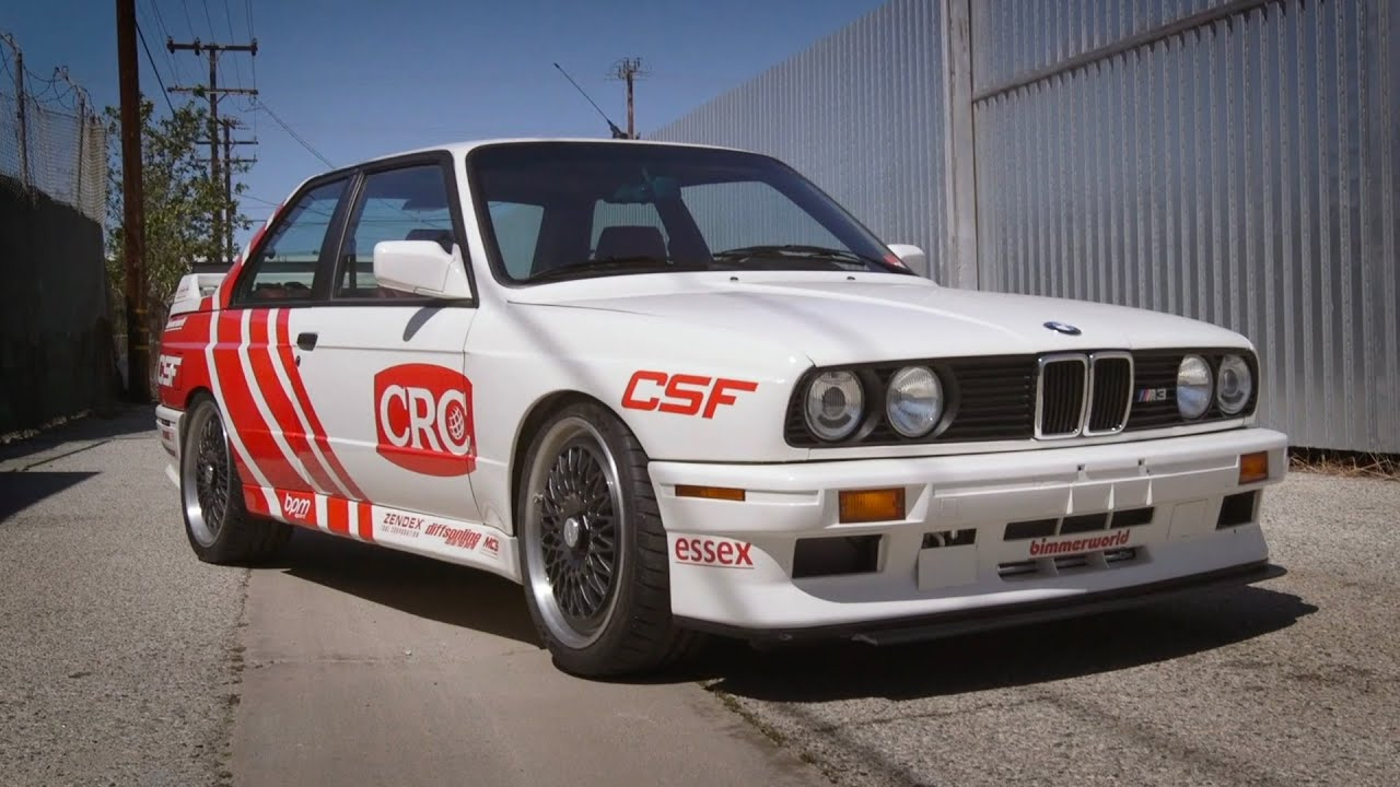 The First S55 Swapped E30 - CSF Racing