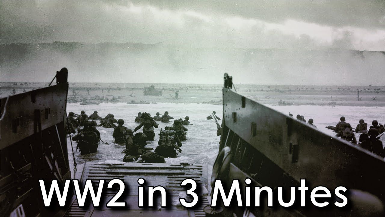 ww2 in 3 minutes youtube