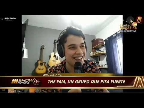 Entrevista a Alejo de The FAM en Ciudad Magazine