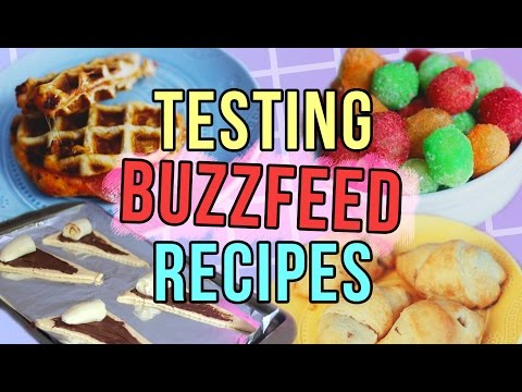 Buzzfeed/Pinterest Recipes TESTED! Easy & Quick Recipes!