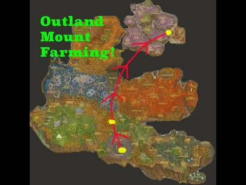 World of Warcraft: Outland Mount Farming