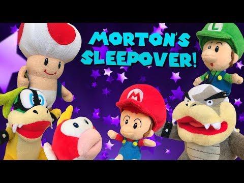 Morton's Sleepover!