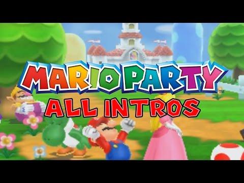 Evolution Of Mario Party Intro's | 1998 - 2016