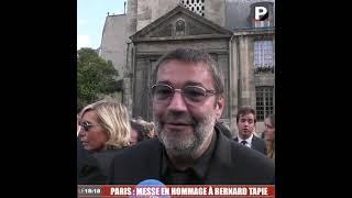 """Hommage à Bernard Tapie : """"Il a emmené tout le monde avec lui"""" (Stéphane Tapie)"""