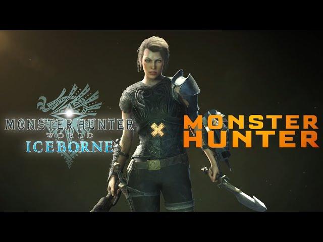 Teaser MHW Iceborne x MH Le Film