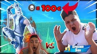 😱Fortnite *KILLDUELL* pro KILL 100€! Mit 20 Kill Bomb Prank (#3) | Wick Brothers Gaming