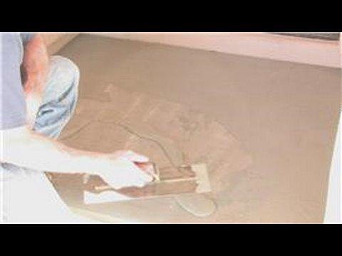 Decorative Concrete Techniques : How to Overlay Stamp Concrete