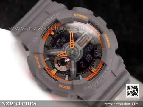 Casio G-Shock Matte Finish Analog Digital Display Watch GA-110TS-1A4 ... f58b77979