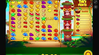 Tiki Fruits: get the bonus slot and free spins