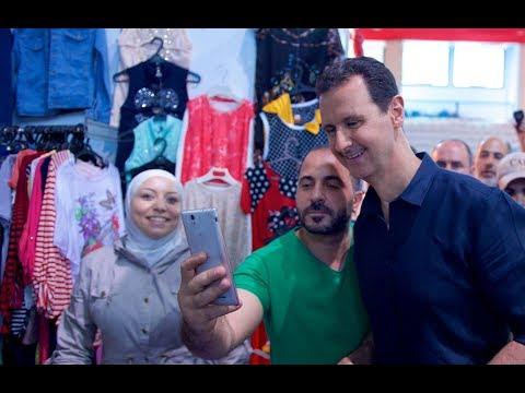 خروج مفاجئ لبشار الأسد من مخبأه إلى شوارع دمشق.. الدلالات والرسائل؟ - قضية اليوم