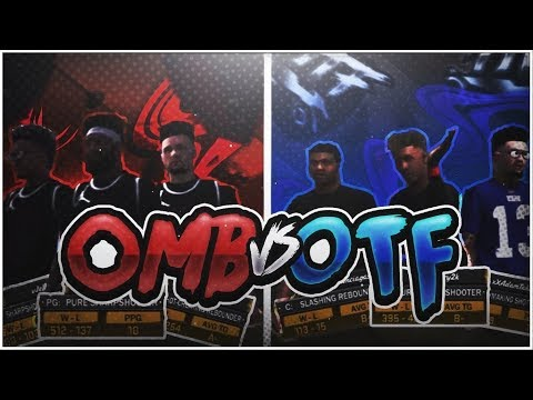 OMB VS OTF CLAN BATTLE   TOP CREWS COMPETE 3V3 SERIES   NBA 2K18 SOMEONE ENDED THERE CREW !!