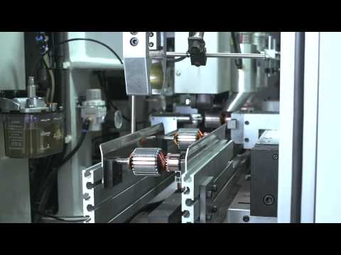 FULLY AUTOMATIC ARMATURE PRODUCTION ASSEMBLY LINE