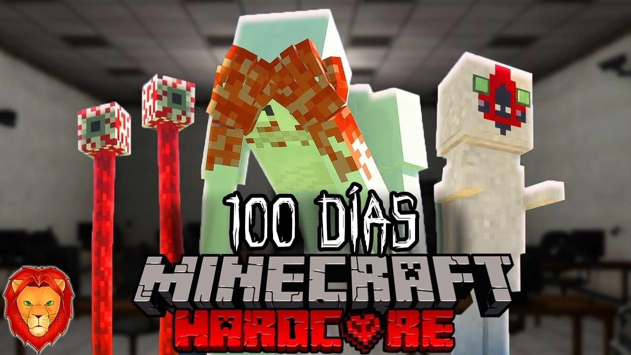 Download SOBREVIVÍ 100 días en un Laboratorio SCP en Minecraft HARDCORE y esto es lo que sucedió...