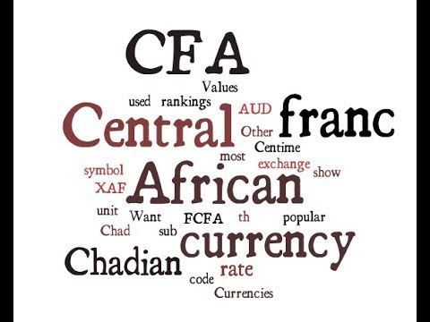 Chadian Currency - CFA franc