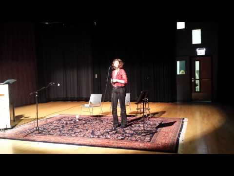 Vocal performance, Old Town School of Folk Music May 10, 2015