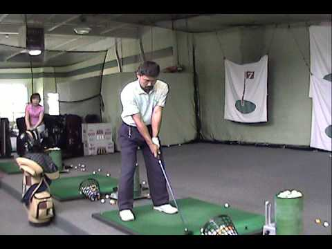 5 wood golf swing by kan lee  front view