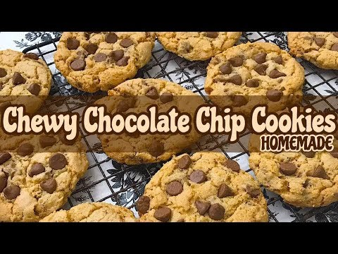 How To Make Chewy Chocolate Chip Cookies EASY | CHOCOLATE CHIP COOKIES | HOW TO MAKE COOKIES