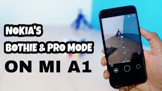 Install Nokia Camera on MI A1 - Bothie & Pro mode without Root 🇮🇳