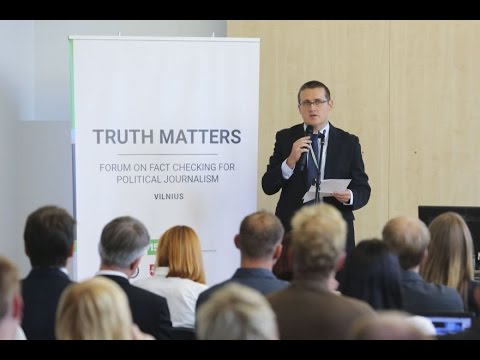 TRUTH MATTERS: forum on fact checking for political journalism