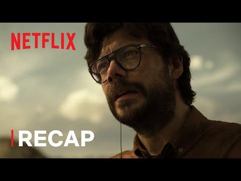 Download Money Heist   Part 4 Recap   Netflix