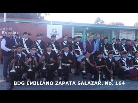Desfile 20 de Noviembre Esc Sec Emiliano Zapata Salazar  #164 BDG ALAS DE ORO FZH