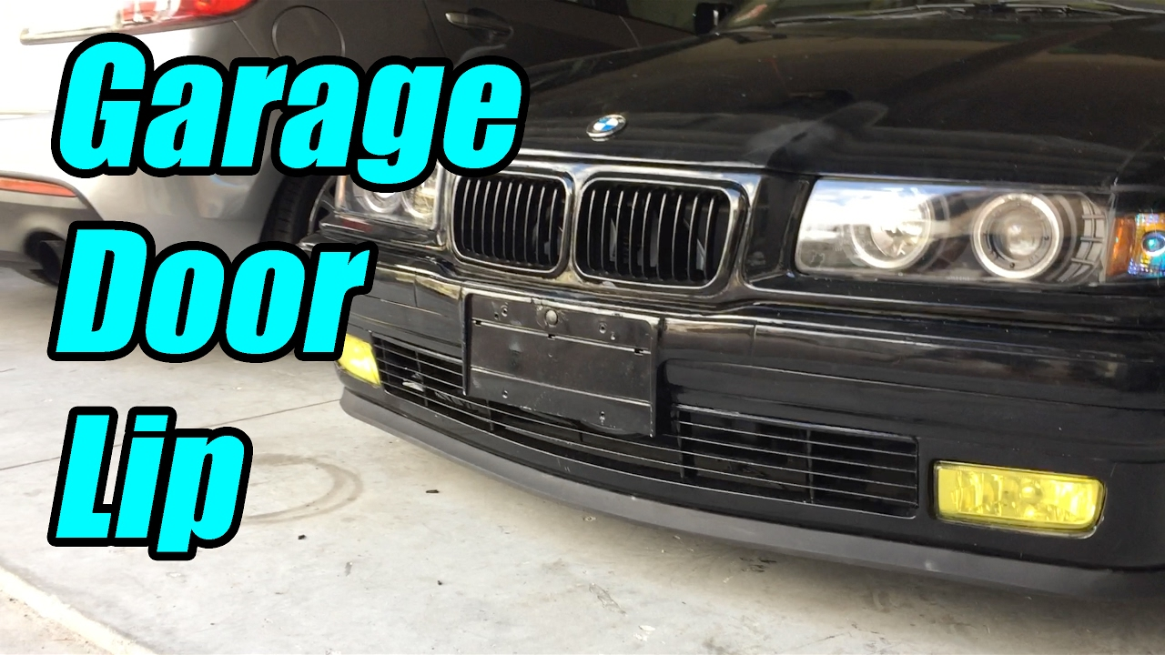 Home Depot Lip Instal Bmw E36 Budget Drifter Youtube