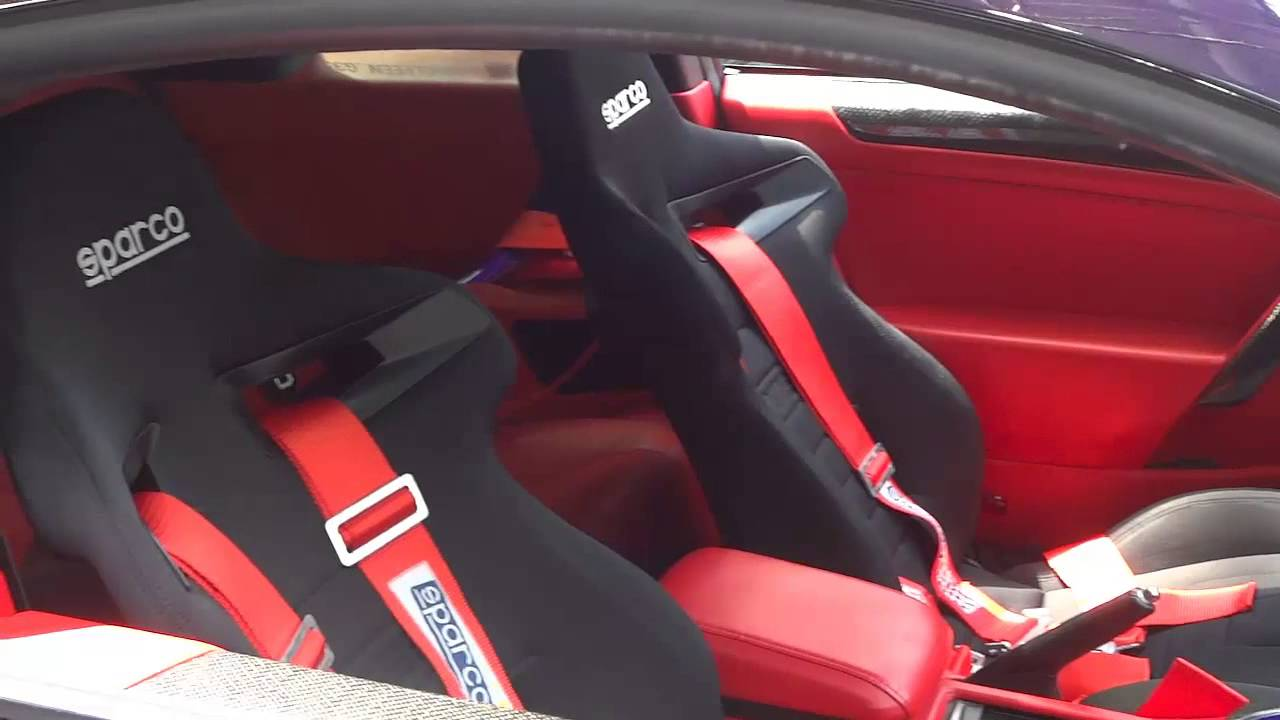 Supercharged G35 With Sparco Racing Seats And Custom Ice