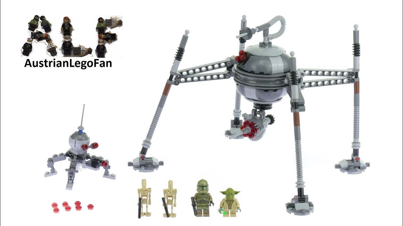 lego star wars spider droid instructions