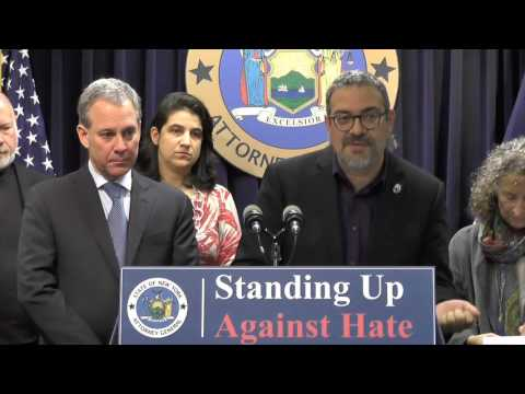 Standing Up Against Hate Crime Press Conference