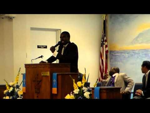 Minister Bruk Berhane in Suitland, M.D.  8.3.13
