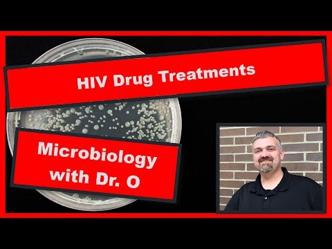 HIV Drug Treatments: Microbiology