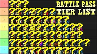 MY BROTHERS FORTNITE BATTLE PASS TIER LIST WILL MAKE YOU RAGE!