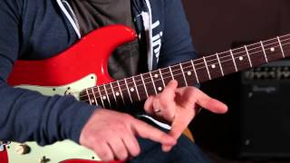 Eric Clapton Style Tasty Blues Lick and Solo Concept Taught by Marty Schwartz