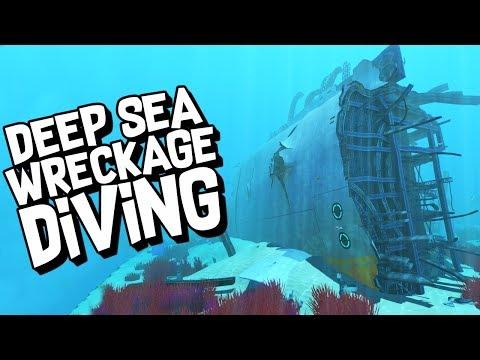 EXPLORING THE DEEP WRECKS - Subnautica Ep #7
