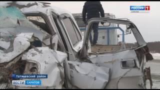 Пять человек погибли в аварии на трассе Саратов - Тамбов