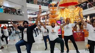 Bhangra Flashmob || Pacific Mall || Bhangra Arena