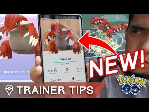 GEN 3 LEGENDARY GROUDON IS HERE! RAID GUIDE, PERFECT IVs, BEST MOVES, COUNTERS in POKÉMON GO