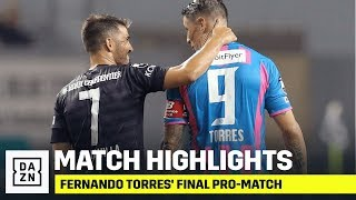 HIGHLIGHTS | Fernando Torres' Final Professional Match