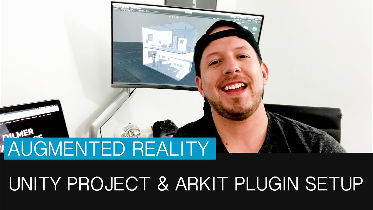 Unity3d project and ARKit plugin setup for the augmented reality game
