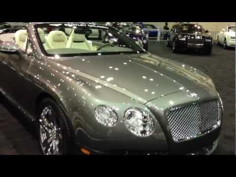 Bentley Continental GT Convertible Tour