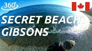 360° nature walk at Secret Beach in Gibsons