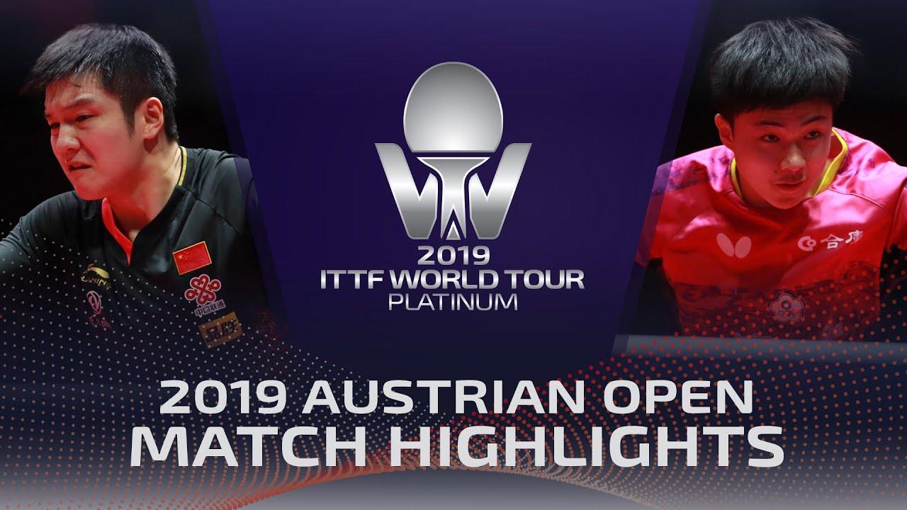 Download Fan Zhendong vs Lin Jun-Yu | 2019 ITTF Austrian Open Highlights (1/4)