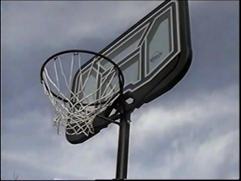 Lifetime Basketball Goal assembly & demo - 90114 - YouTube