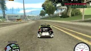 GTA San Andreas - Ken Block's Ford Fiesta RC Car.avi