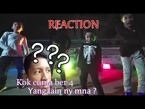 Reaction Video Gen Halilintar Cover Lagu Thunder Youtube