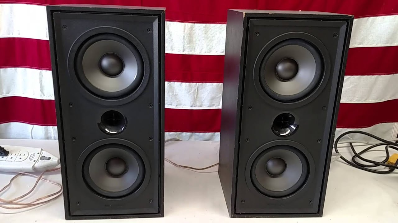 Klipsch Kg 2 2 Speakers Video Youtube